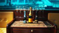 Champagne on a Dunarama boat