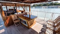 Thetis boat deck
