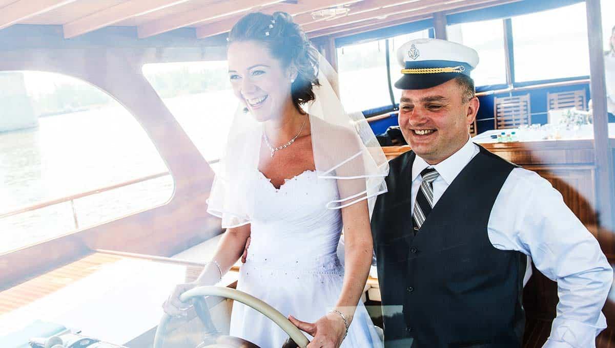 Thetis boat wedding